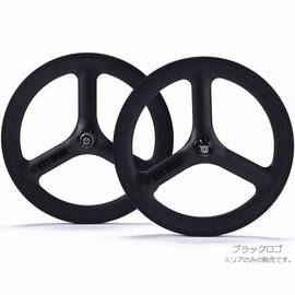Kitt design Carbon Tri-spoke リア リムブレーキ用 20インチ(ETRTO:406mm)
