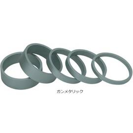 Smooth Spacer Set (スムーススペーサーセット) 5個セット 1-1/8インチ